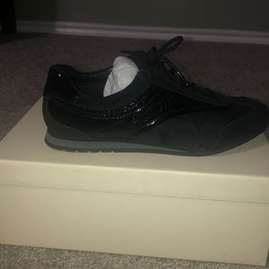 NWT AUTHENTIC black coach sneakers